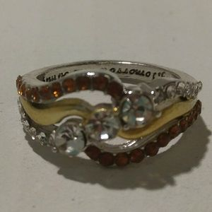 Silver-Gold Ring